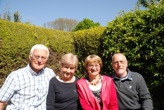Bryann, Sue, Claude et Serge