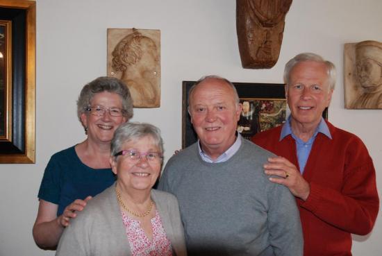 Clare, Marie-George, Jean-Pierre, David