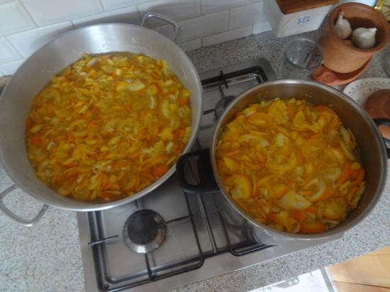 Marmalade in preparation by JC