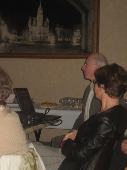 Présentation du site internet par Geneviève et Claude