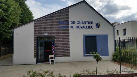 La salle de quartier du Camp de Royallieu