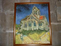 L'église d'Auvers sur Oise par Van  Gogh