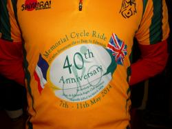 Memorial cycle ride