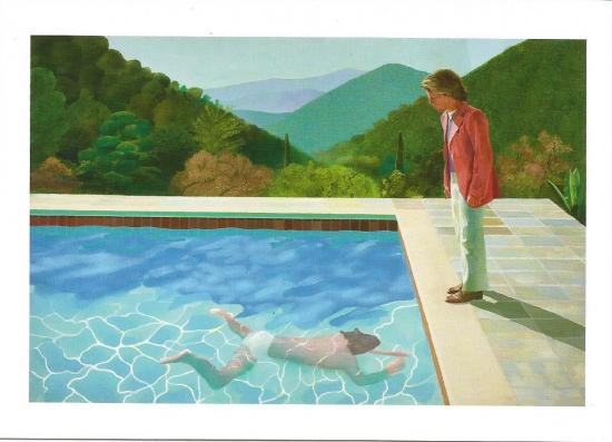 Portrait d un artiste D Hockney